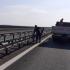 Circulație oprită pe o bandă a autostraăzii A2 București - Constanța, pentru schimbarea parapetului median