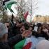 Manifestații arabe la Paris