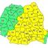 Cod galben de caniculă şi disconfort termic în 30 de judeţe
