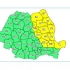Avertizare meteo: Cod galben de vânt în rafale, lapoviță și ninsoare