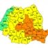 Cod portocaliu de ploi şi descărcări electrice în Dobrogea