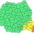 Avertizare ANM. Cod Portocaliu de ploi și vânt în județele Constanța și Tulcea