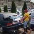 Comercianții ilegali din Tomis III, în pom. Li s-au ridicat mașinile-tarabă