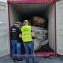 Containere cu 110 tone de deșeuri de cauciuc, descoperite în Portul Constanţa Sud Agigea