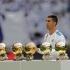 """Ronaldo și-a prezentat al cincilea Balon de Aur pe """"Santiago Bernabeu"""""""