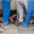 Incident la Constanţa: Un bărbat care trebuia să se afle în autoizolare a intrat plin de sânge în spital şi a scuipat medicii