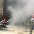 Ro-Alert în Constanta. 48 de pompieri luptă să stingă incendiul de la un depozit