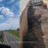 Aproximativ 150 de tone de deşeuri de tip şpan, descoperite la frontiera Vama Veche