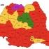 Harta orașelor reședință de județ. Evoluție 2016-2020.