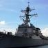Distrugător american în apropierea unei baze rusești din Pacific, supravegheat de ruși
