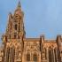 O dronă a rămas blocată în turla catedralei din Strasbourg
