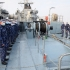 GALERIE FOTO. Bastimentul ''Locotenent Lupu Dinescu'' se alătură Grupării Navale Permanente a NATO SNMCMG-2