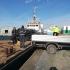Ecologizarea zonei din dreptul navei Queen Hind, la final