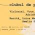Violoncelistul Adrian Naidin, invitat de onoare la  Clubul de Poezie, ediția a 3-a