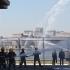 Exercițiu de intervenție în caz de incendiu în Portul Constanța