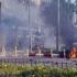 Explozie în parcarea unei clădiri din Antalya