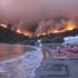 Stațiuni din Grecia, pline de români, amenințate de incendii