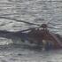 Elicopter prăbuşit în mare. Operaţiuni de căutare a victimelor