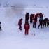 30 de salvatori au simulat o avalanşă la Rânca