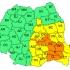 Cod galben de instabilitate în Dobrogea