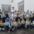 """Ianis Hagi, emoţionat la întâlnirea cu elevii Şcolii Gimnaziale Nr. 18 """"Jean Bart"""""""