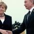 Putin şi Merkel au discutat despre crizele din Ucraina şi Siria