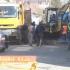 Constănțenii de pe bulevardul Tomis din Constanța, fără apă