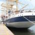 Velierul de lux Royal Clipper a ajuns în Portul Constanța