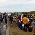 Imigranţi extracomunitari, în greva foamei în Serbia, la graniţa cu Ungaria