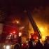 Incendiu la clubul Bamboo din Capitală! Clădirea s-a prăbușit!