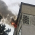 Explozie urmată de incendiu violent într-un bloc din Constanța