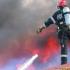 30 de persoane evacuate, în urma unui incendiu la Cernavodă