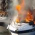 Explozie urmată de incendiu, în portul touristic Tomis