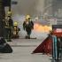 Incendiu la metroul londonez. Scene îngrozitoare provocate de evacuarea mai multor persoane