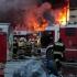 Incediu devastator la un depozit din Moscova