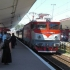 Locomotivă desprinsă de vagoane. Călătorii au rămas în câmp