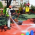 Locurile de joacă din Constanța, dezinfectate permanent
