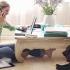 Doar 0,4% dintre români lucrează de acasă