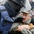 Lupte în fața Parlamentului din Ucraina
