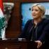 Președintele libanez, primul șef de stat străin care o primește pe Marine Le Pen
