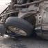 Patru persoane rănite după ce o mașină s-a răsturnat