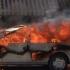 Panică în trafic! Mașină cuprinsă de flăcări, în Constanța!