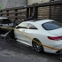 Mercedes de 130.000 de euro, incendiat în Piața Chiliei