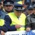 Polițiștii protestează în fața MAI pentru mărirea salariilor