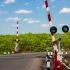 Peste 250 de sancțiuni într-o zi, pentru nereguli în zona trecerilor la nivel cu calea ferată