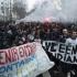 Nou val de proteste violente în Franţa. Studenţii, în confruntări cu poliţia
