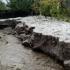 Palazu Mic a fost acoperit de un strat de grindină care a atins și un metru grosime