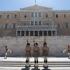 Parlamentul din Grecia, vandalizat