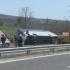 Accident pe autostradă! 10 morţi şi zeci de răniţi, după ce un autocar s-a răsturnat