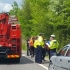 Şase persoane, între care trei copii, rănite într-un accident
